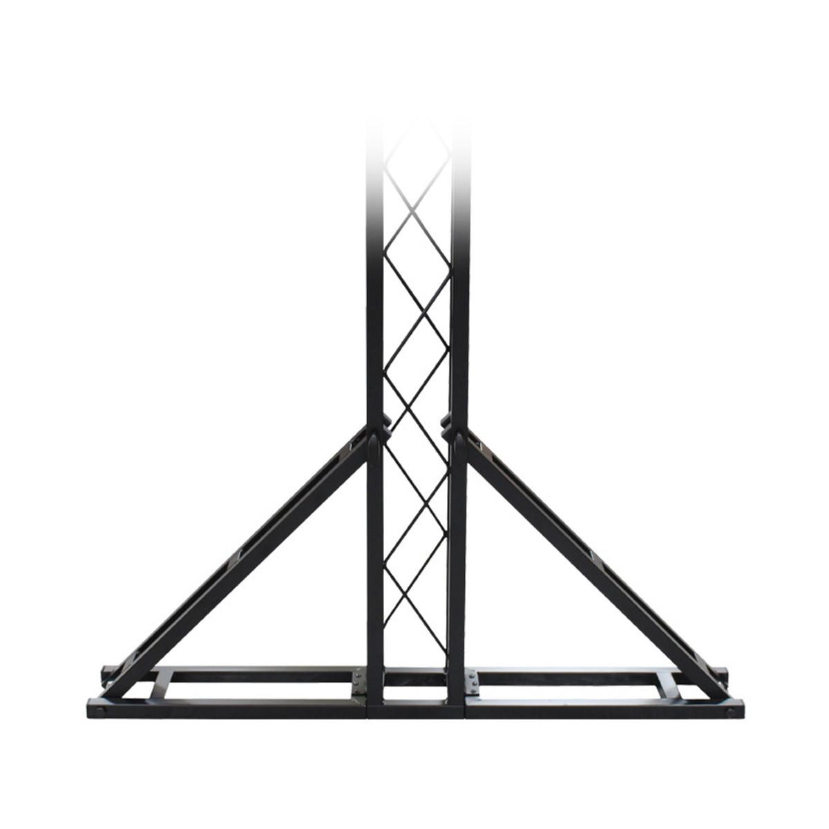Equinox 3 X 2m Truss System Black At Gear4music