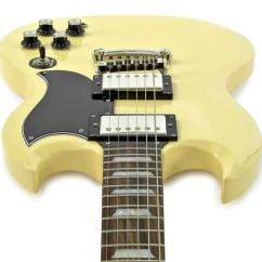 Gibson Sg Epiphone Vw Golf Mk2 Wiring Diagram Disc G 400 Limited Edition Cream At