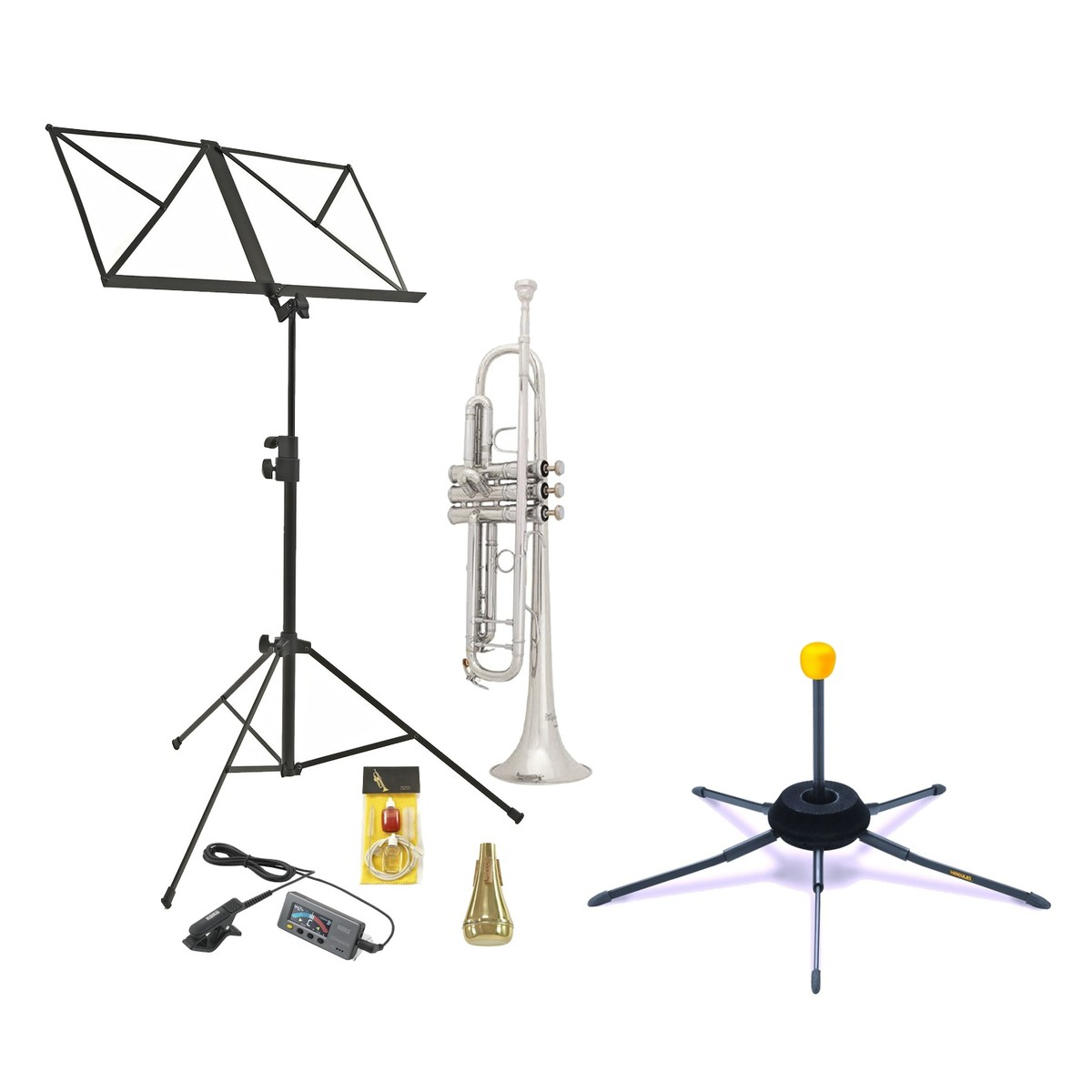 DISC Bach TR400S Intermediate Trumpet Players Pack
