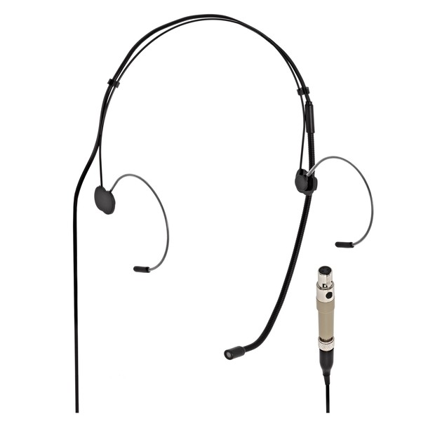 SubZero Headset Microphone with AKG Style Connector, Black