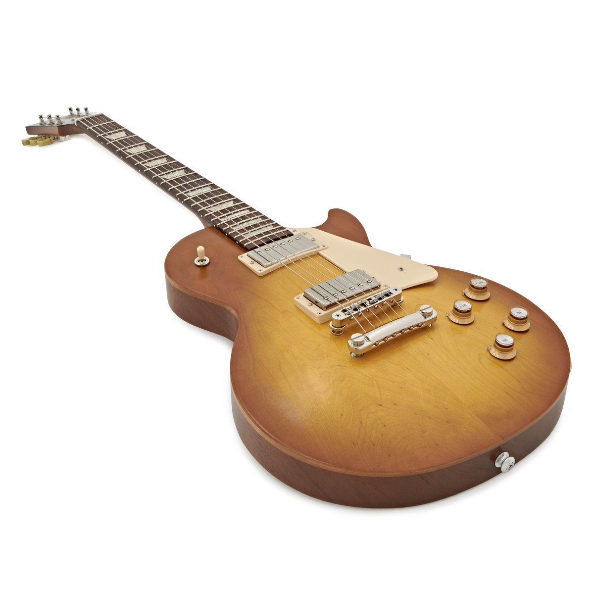 hight resolution of  gibson les paul tribute t electric guitar faded honey burst 2017