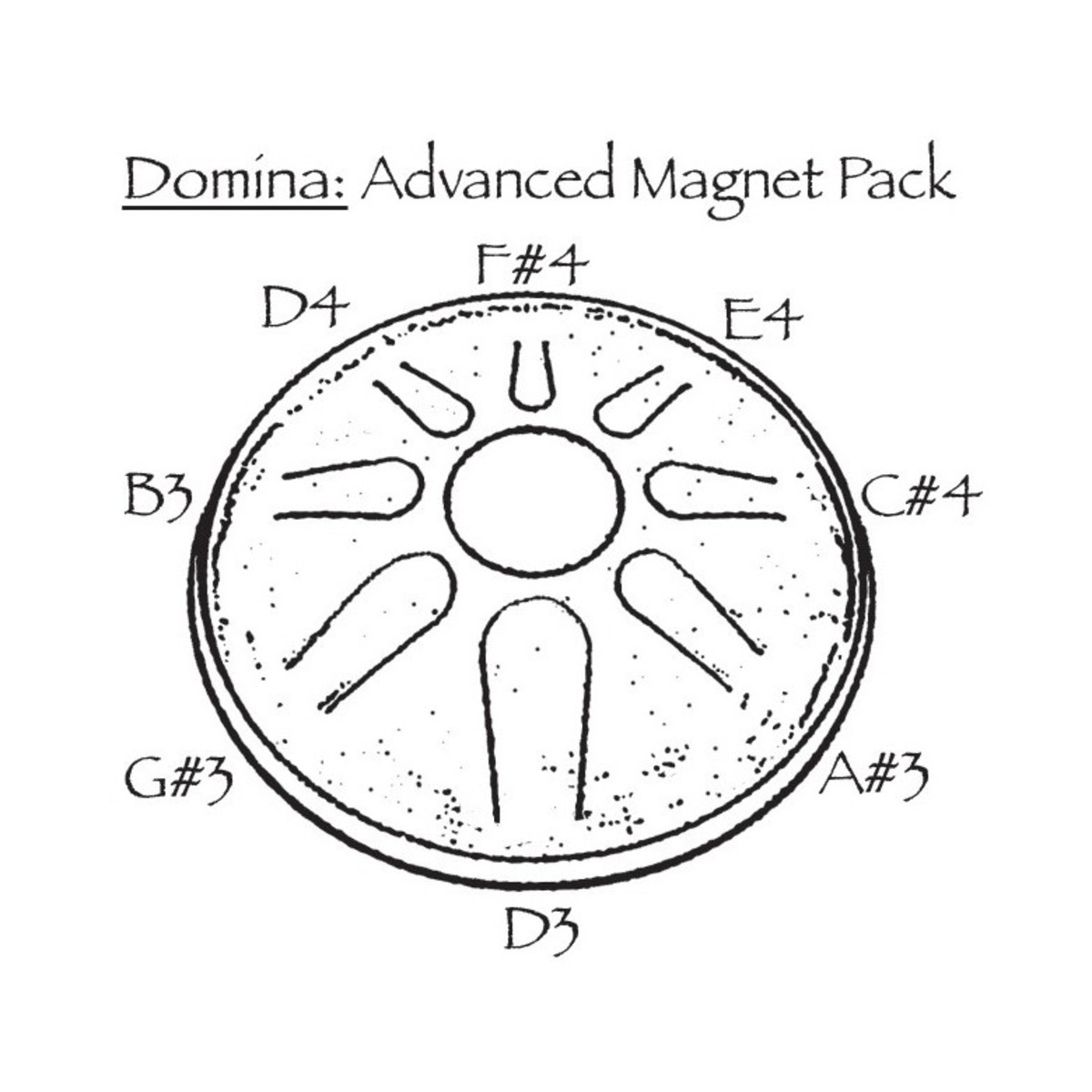 hight resolution of  idiopan domina advanced magnet pack