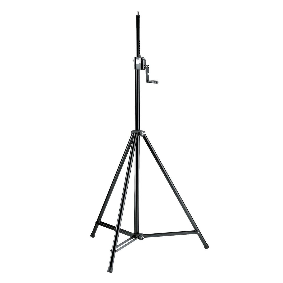 K&M 246/1 Lighting/Speaker Stand, Black at Gear4music