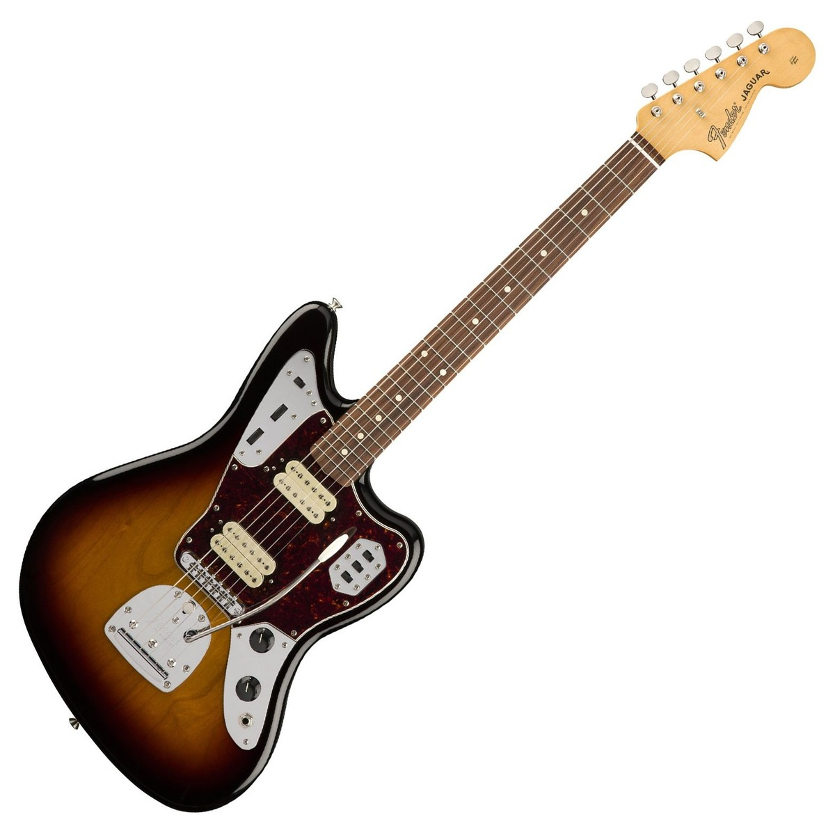 hight resolution of fender classic player jaguar special hh pau ferro 3 tone sunburst front loading zoom