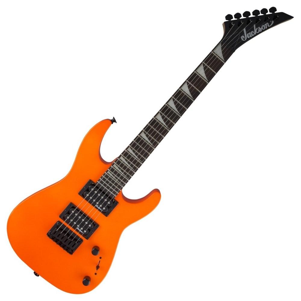 medium resolution of jackson js1x dinky minion electric guitar neon orange loading zoom jackson js1x dinky