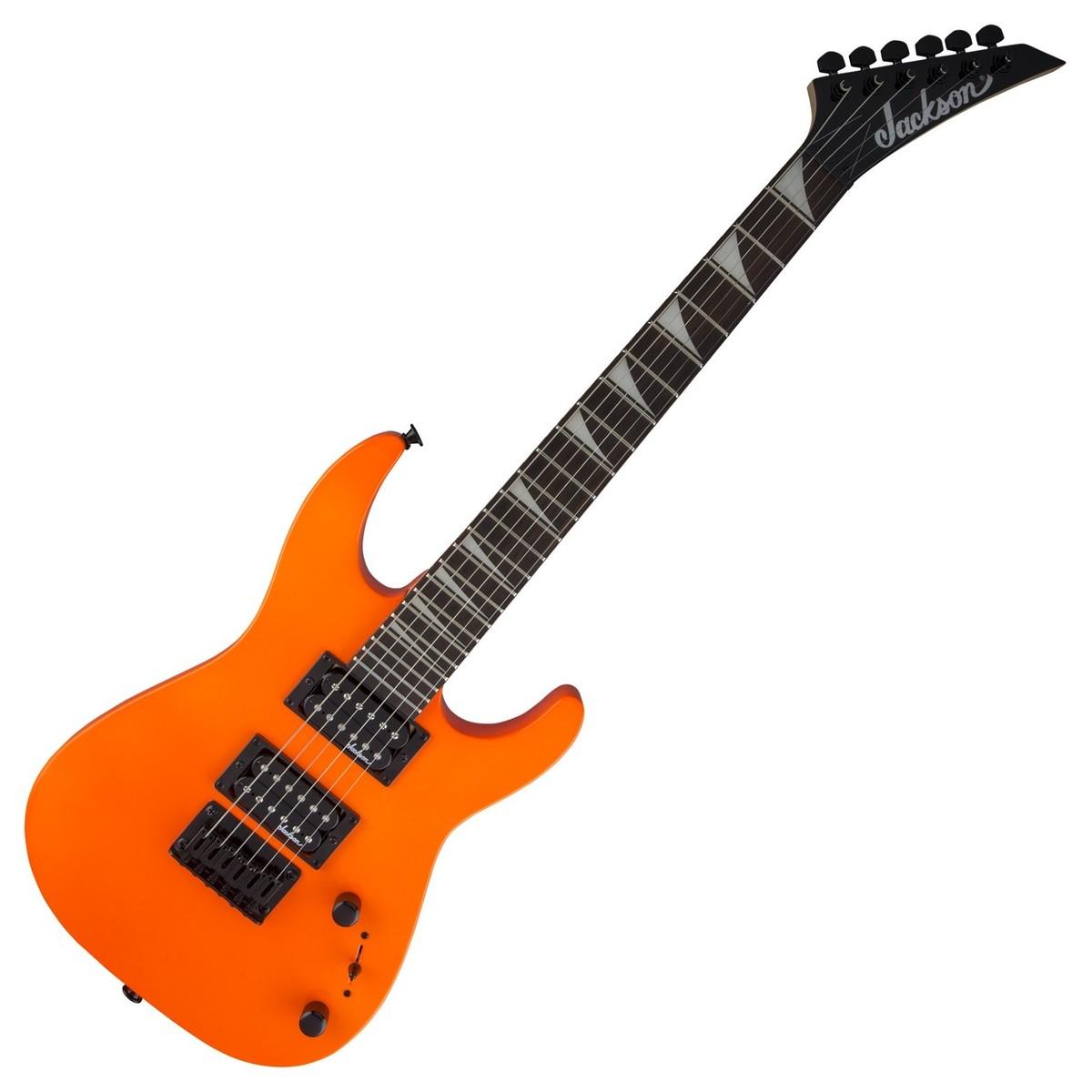 hight resolution of jackson js1x dinky minion electric guitar neon orange loading zoom jackson js1x dinky