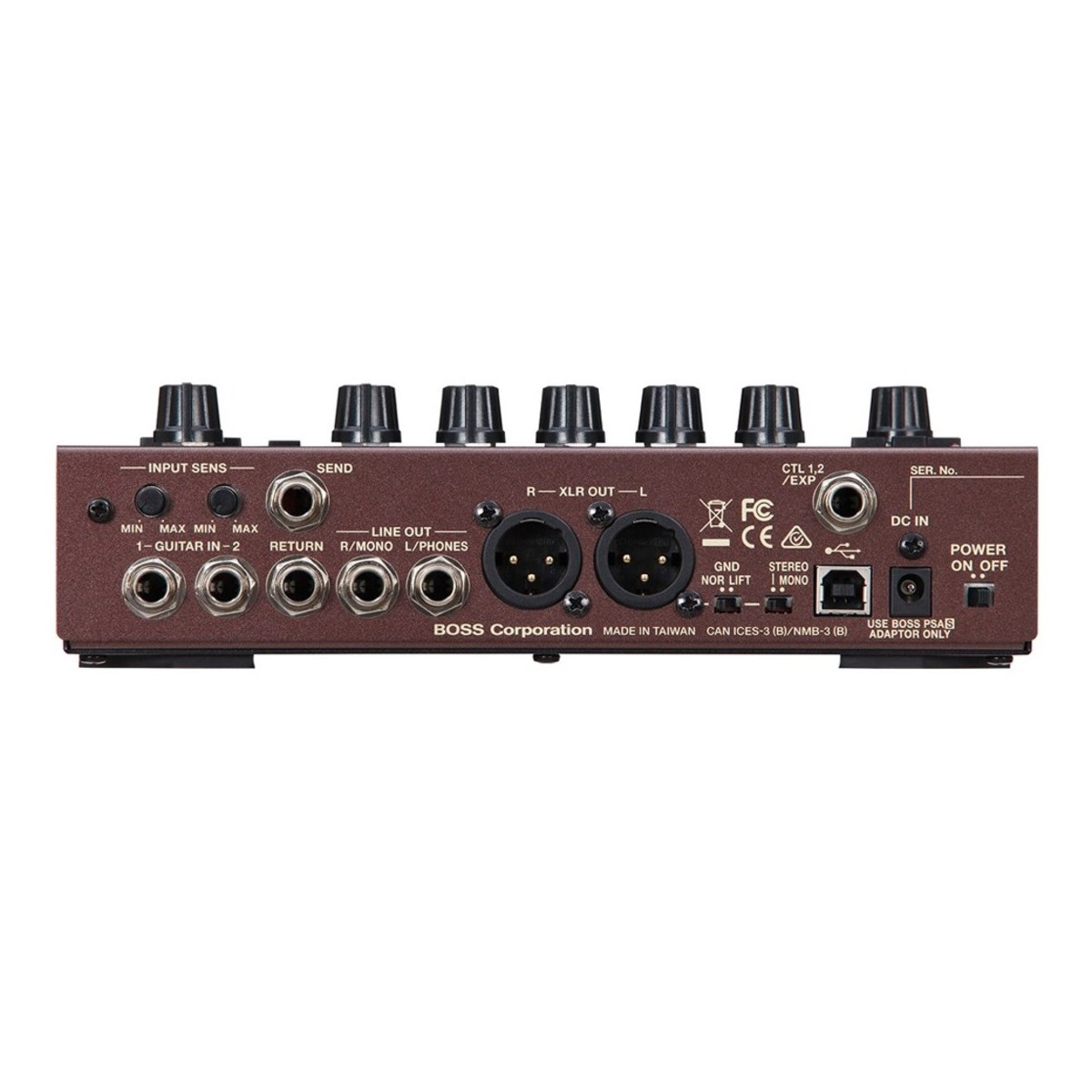 hight resolution of boss ad 10 acoustic preamp side loading zoom