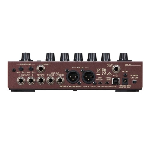 small resolution of boss ad 10 acoustic preamp side loading zoom