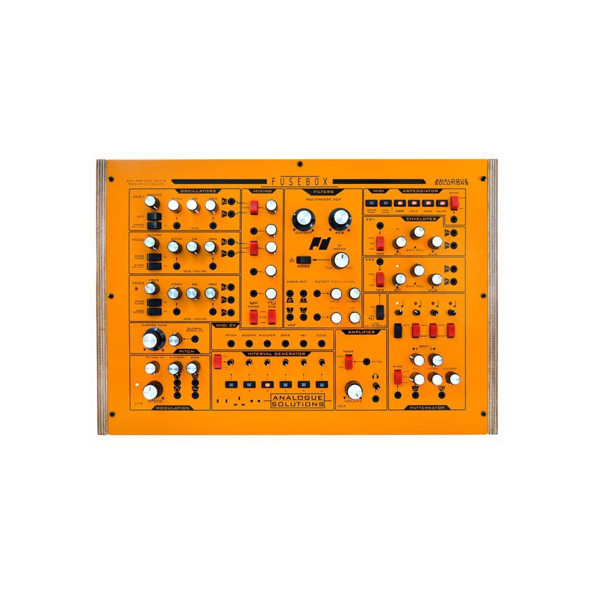 hight resolution of analogue solutions fusebox