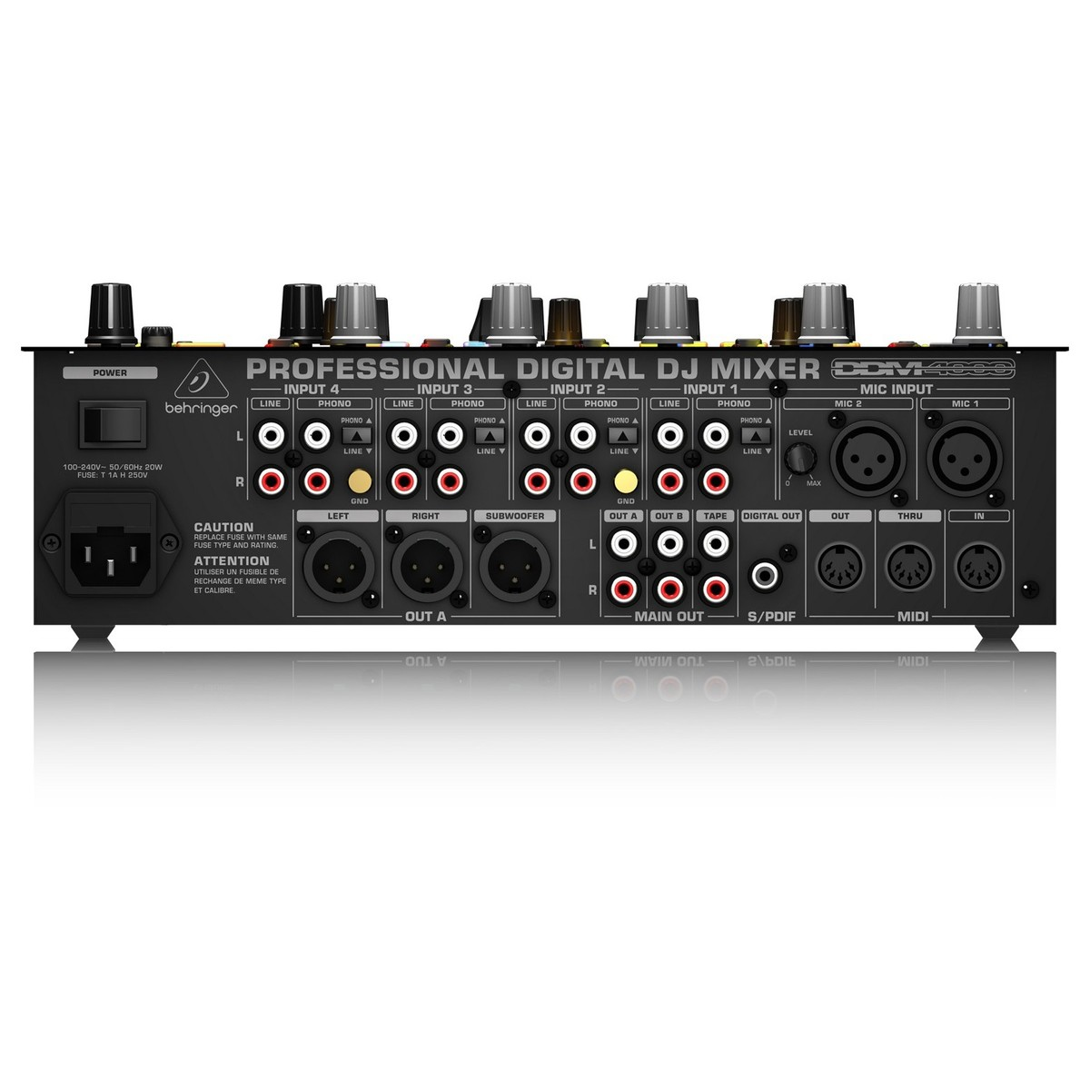 hight resolution of behringer ddm4000 digital pro mixer loading zoom