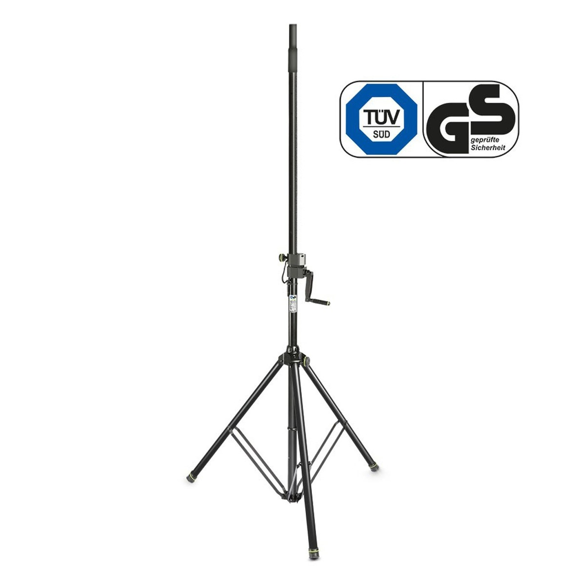 Gravity GSP4722B Wind Up Speaker Stand at Gear4music