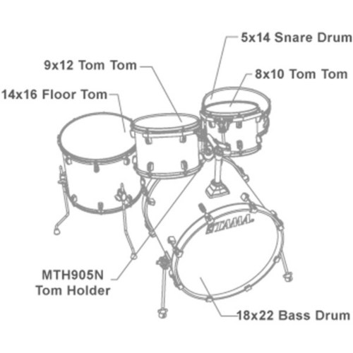 small resolution of  tama silverstar accel driver 5 piece drum kit trans red burst