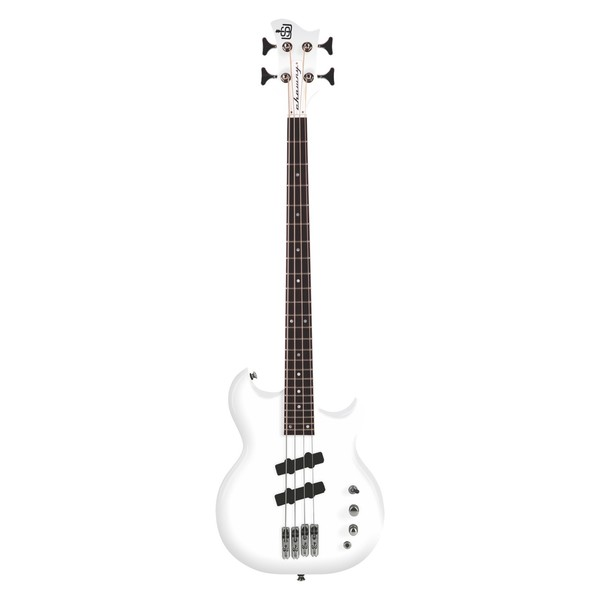Chowny SWB-1 Scott Whitley Active Bass, White at Gear4music