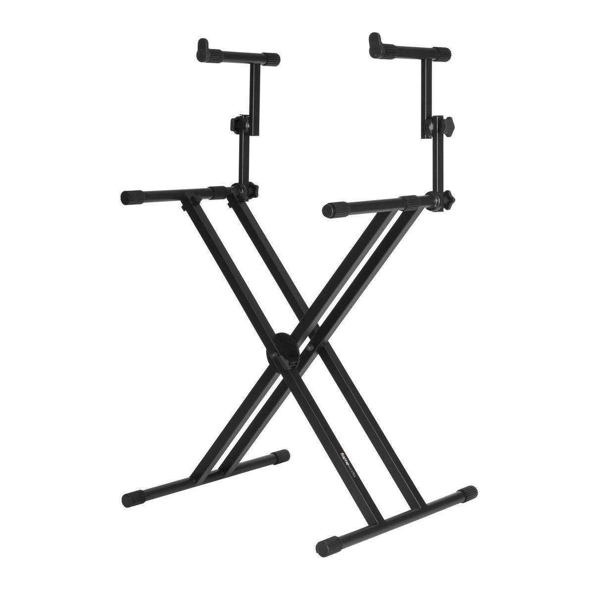 Frameworks GFW-KEY-5100X X Style Keyboard Stand with Upper