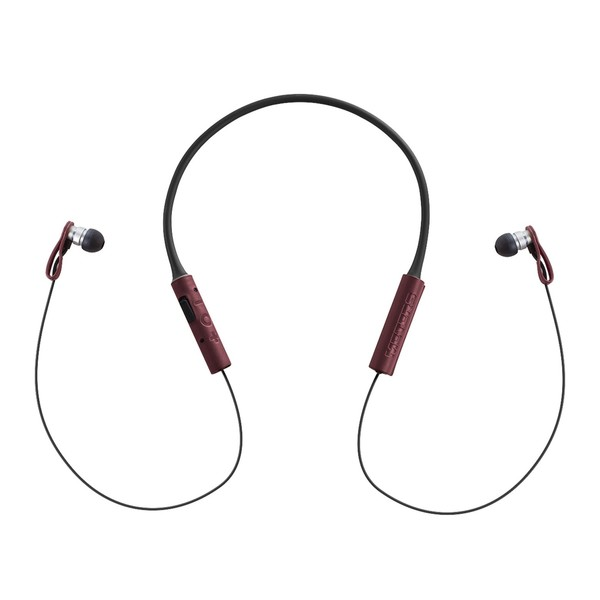 Meter M-Ears-BT Bluetooth In-Ear Monitors, Red at Gear4music