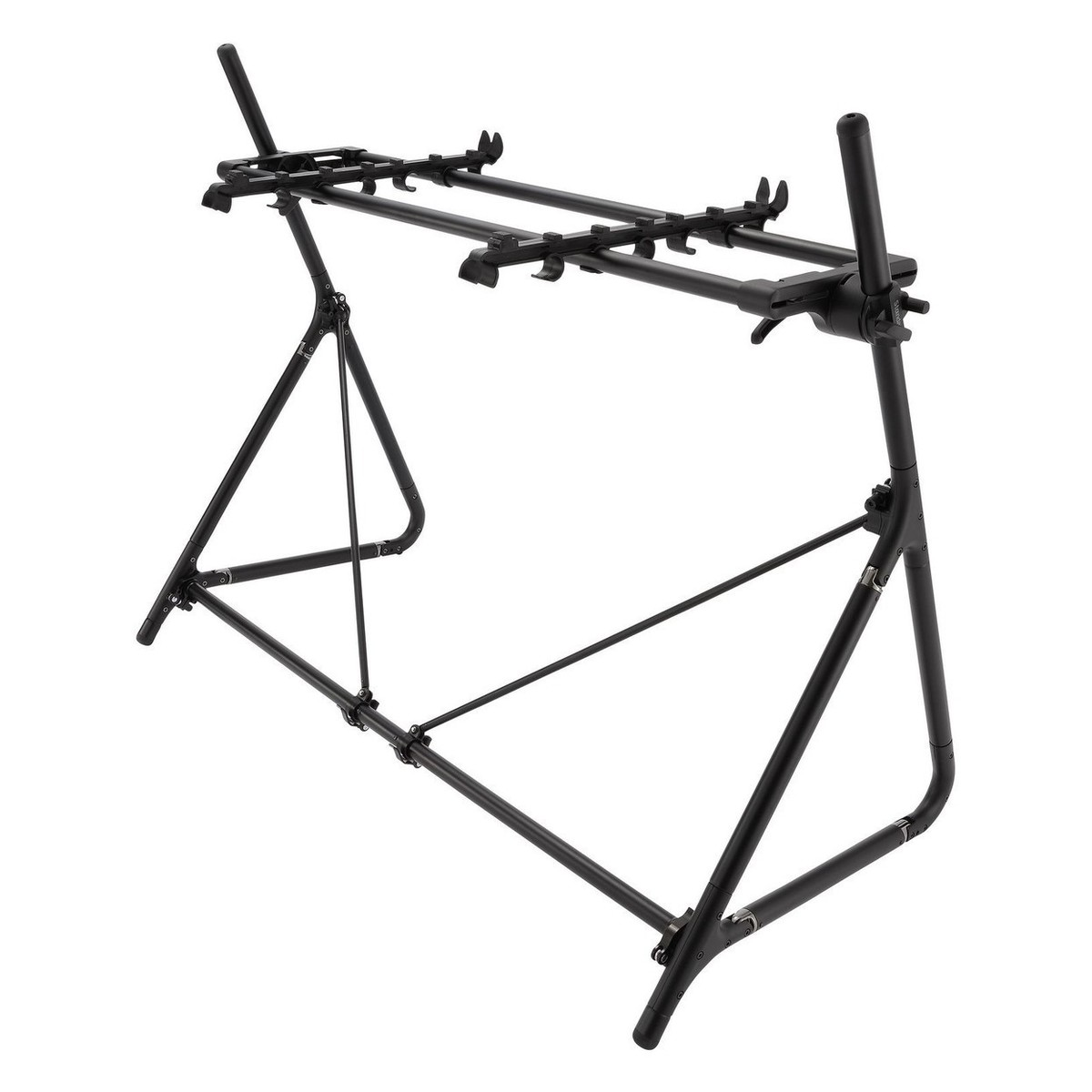 Sequenz Standard Double Tier Small Keyboard Stand Black