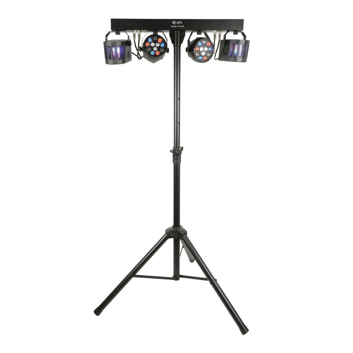 QTX LED Derby FX Bar with Lighting Stand at Gear4music