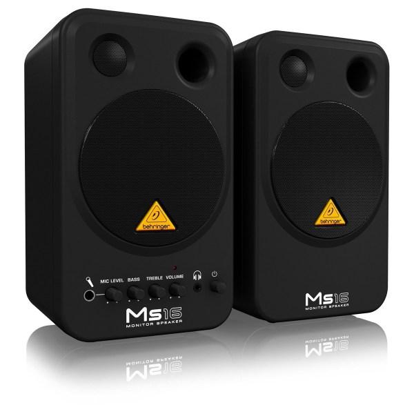 Behringer Ms16 Monitor Da Studio Coppia Gear4music