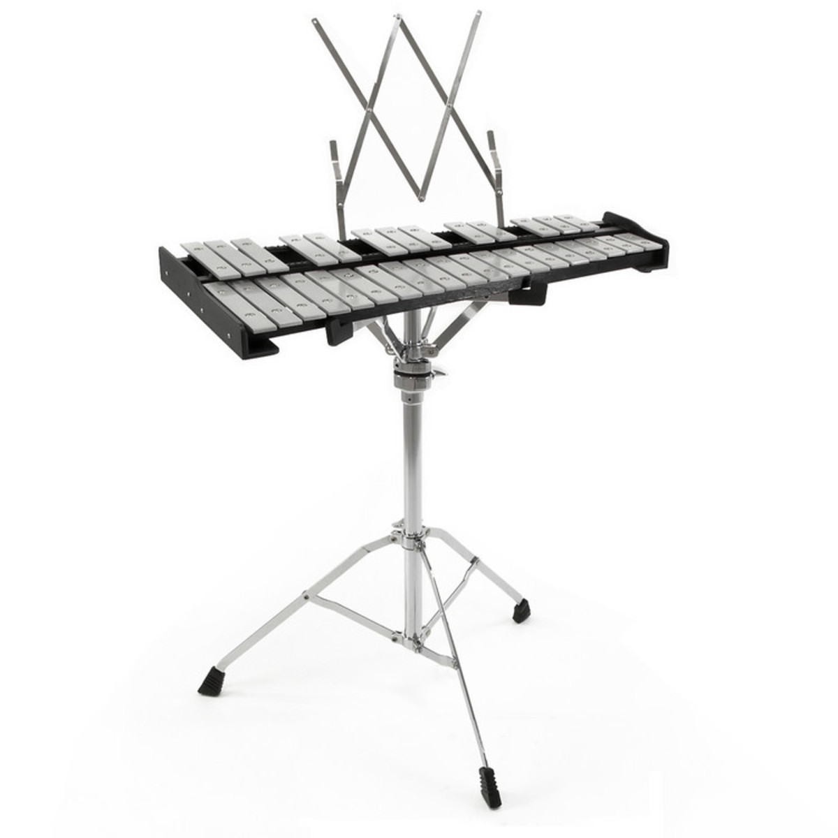 32 Note Orchestral Glockenspiel by Gear4music with Stand