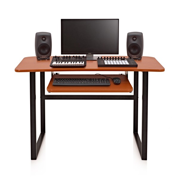 2 Tier Home Studio Desk by Gear4music at Gear4music