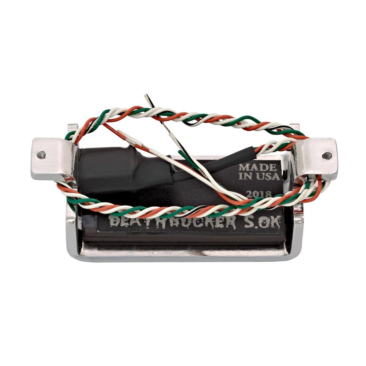 hight resolution of  lace sensor alumitone deathbucker chrome back