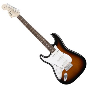 Squier Affinity Left Handed Stratocaster, RW, Brown