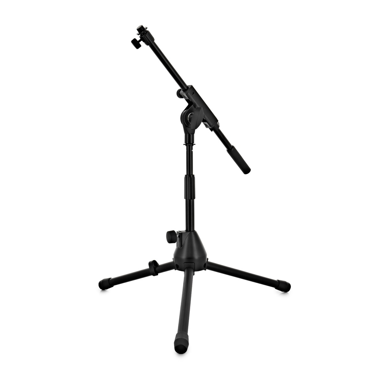 Low Mic Stand With Extending Boom Arm At Gear4music