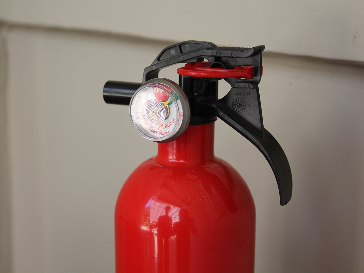 fire extinguisher for kitchen use remodeling a on budget check extinguishers pressure homezada