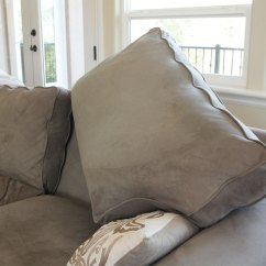 Flip Out Sofas Vintage Knoll Sofa Fluff And Rotate Cushions | Homezada