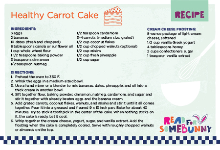 Healthy Kids Recipes Inspired By Bunny Cakes Lapetite