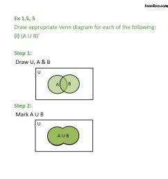 venn diagram sample space [ 945 x 945 Pixel ]