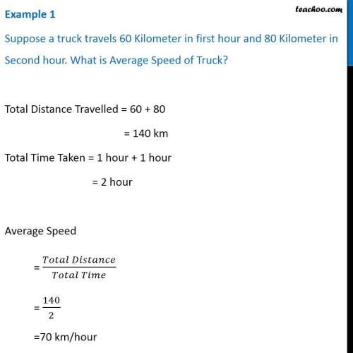 small resolution of Average Speed - Formula