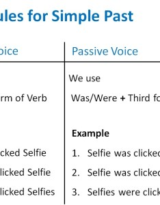Rules for simple pastg also past active passive voice and voic rh teachoo
