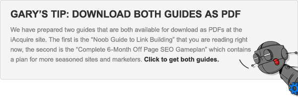 Download both Link Building Guides