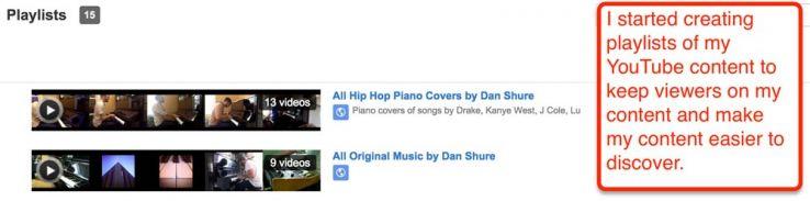 youtube playlists