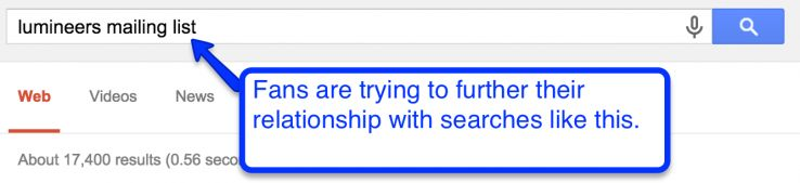 current fan search