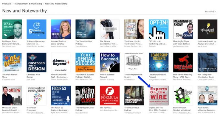 Number 30 in new and noteworthy