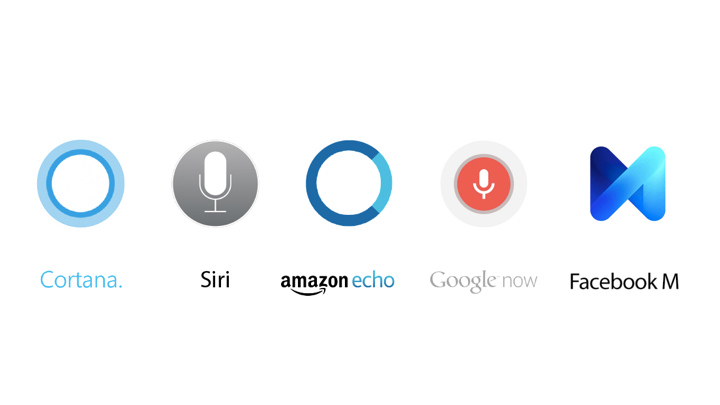 The 5 tech giants have all built an Intelligent Personal Assistant