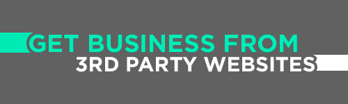 Get Business from 3rd Party Websites header