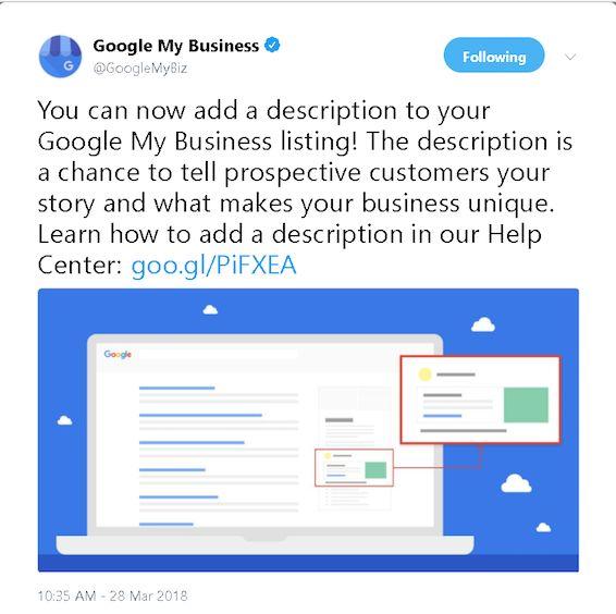 Cómo optimizar su listado de Google My Business