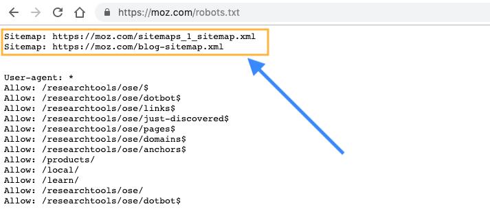 """Plan du site dans le fichier robots.txt """"title ="""" Plan du site dans le fichier robots.txt """"></figure data-recalc-dims="""