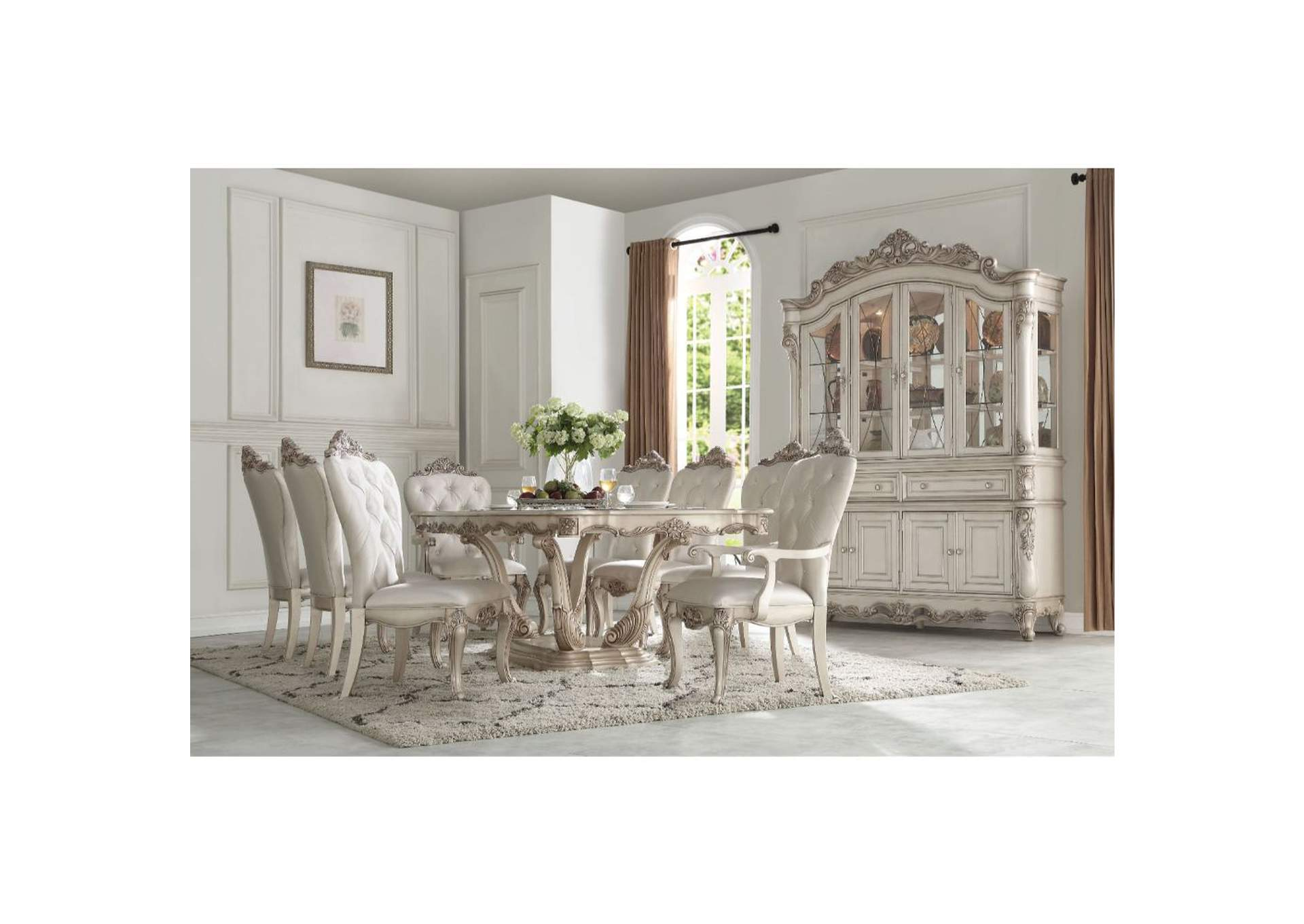 Antique White Dining Chairs Goree S Furniture Opelika Al Gorsedd Antique White Dining Table