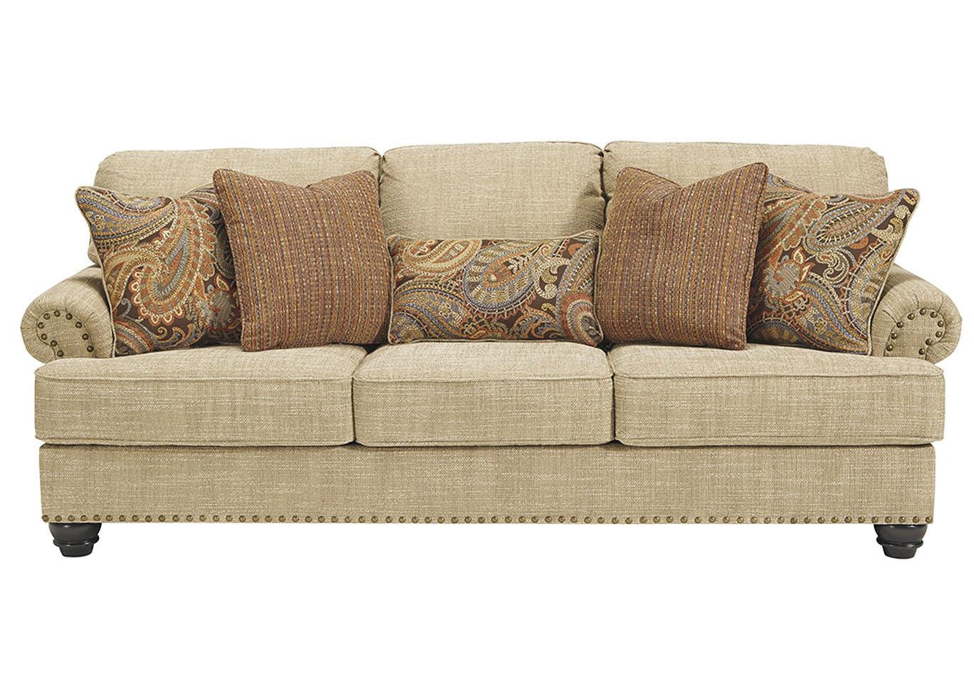 oatmeal sofa bamboo bed forks carolina furniture easton pa candoro benchcraft
