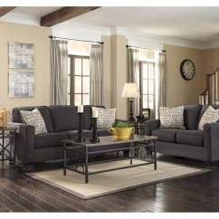 Charcoal Gray Sectional Sofa 2 Piece And Loveseat Covers Austin's Couch Potatoes | Furniture Stores Austin, Texas ...