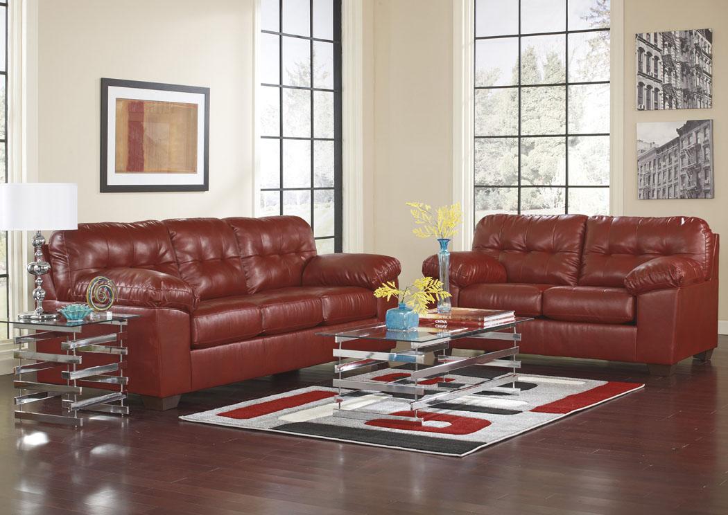 living room furniture ma farmhouse wall decor sclamo s worcester alliston durablend salsa sofa loveseat signature design by ashley