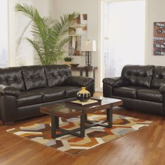 Mission Brown Leather Sofa Custom Sofas For Less American Furniture Galleries Alliston Durablend Chocolate ...