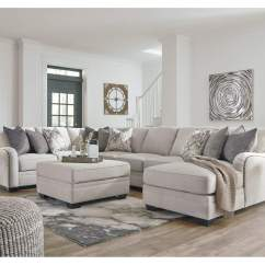 Gray Microfiber Power Reclining Sofa Chicago Bed Review Furniture Now Dellara Chalk Sectional