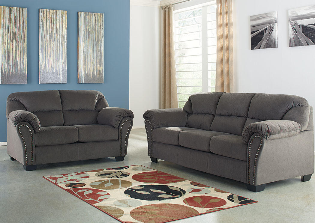 sofa and more sofas on gumtree leather furniture for less kinlock charcoal loveseat signature design by ashley