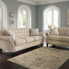 Gray Microfiber Power Reclining Sofa Chesterfield Antique Alabama Furniture Market Kieran Natural & Loveseat