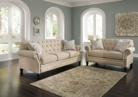 Long Island Discount Furniture Kieran Natural Sofa & Loveseat